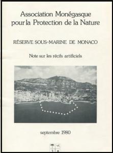 récifs artificiels 1980